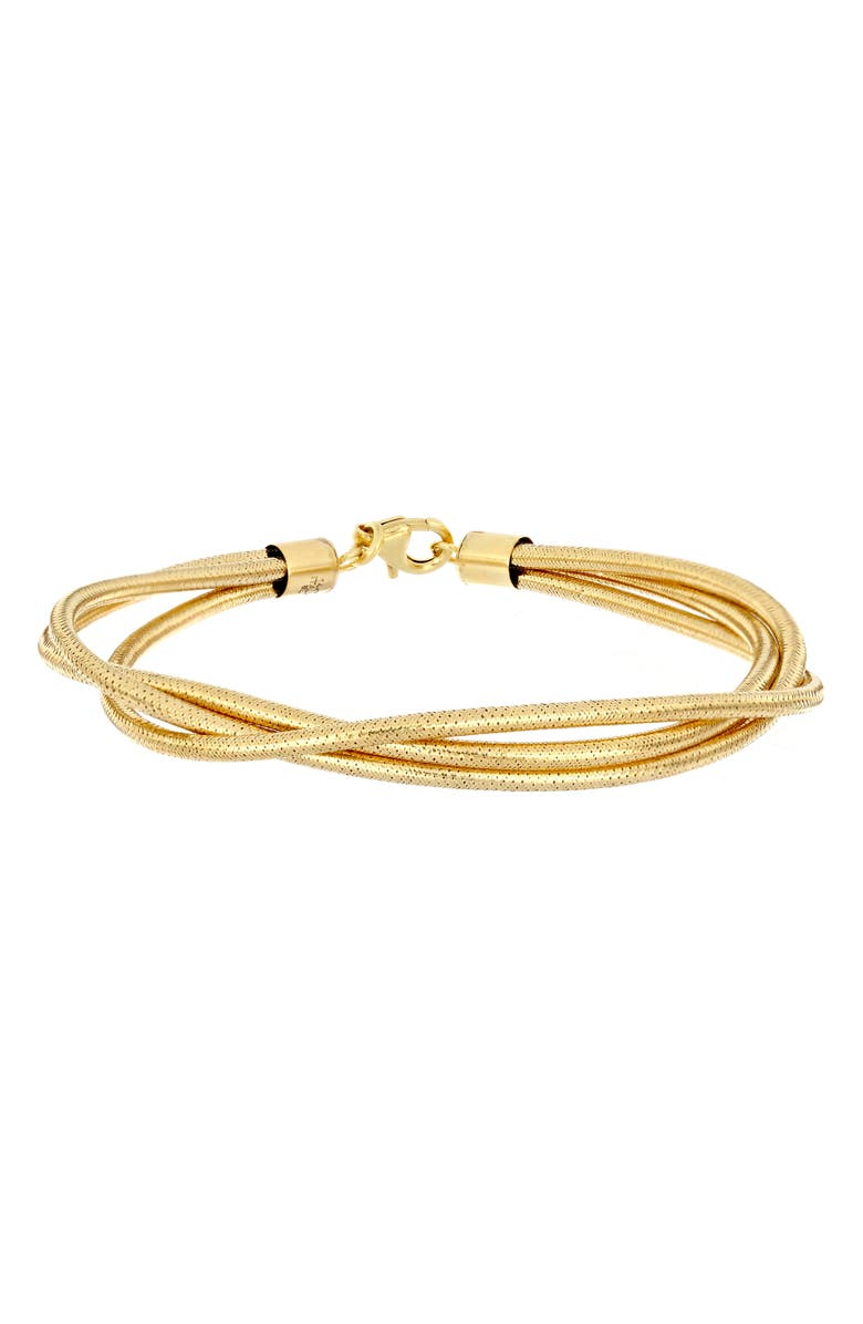 BONY LEVY 14K Gold Triple Layer Bracelet, Main, color, 710