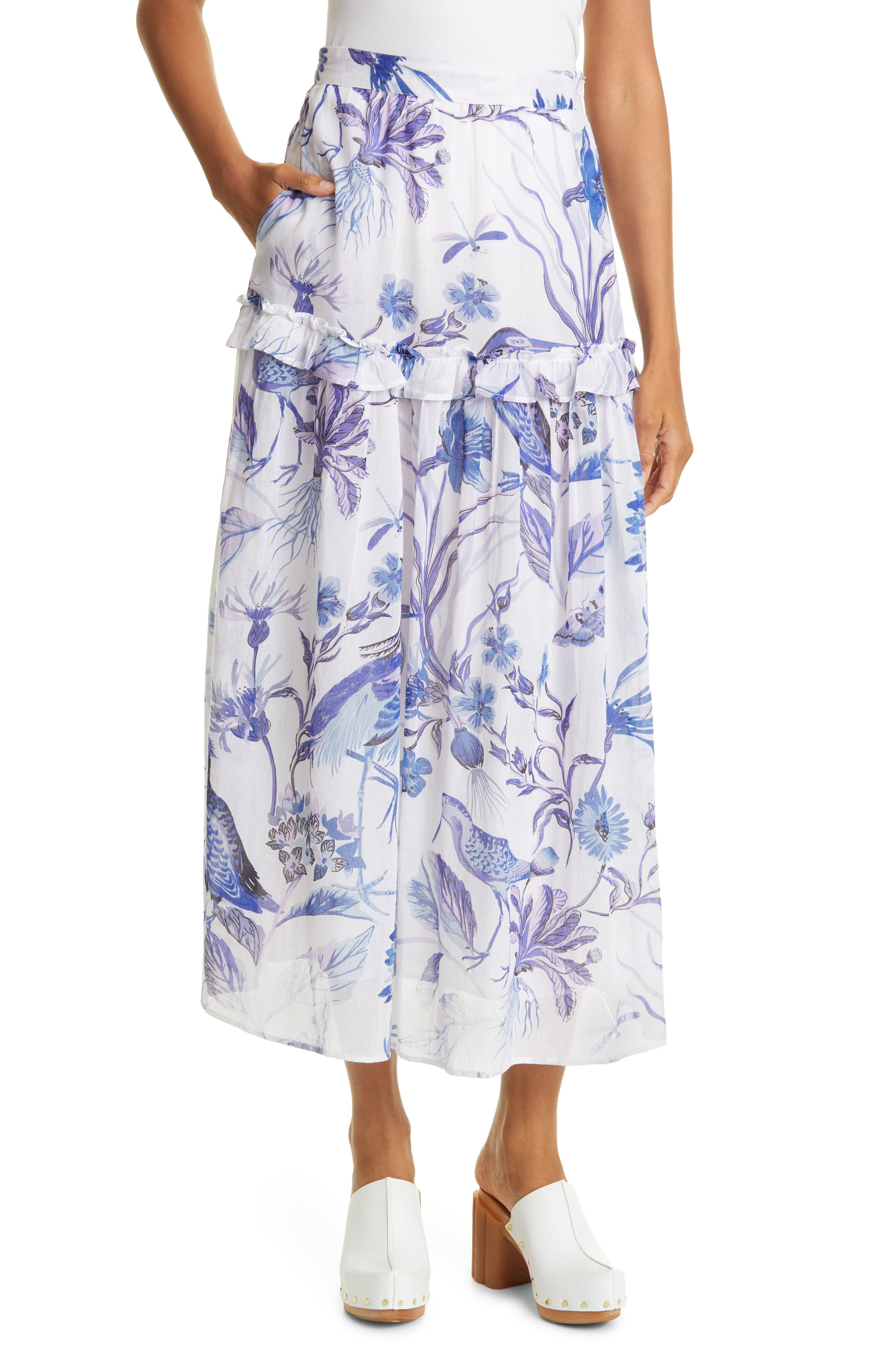 Piper Floral Skirt
