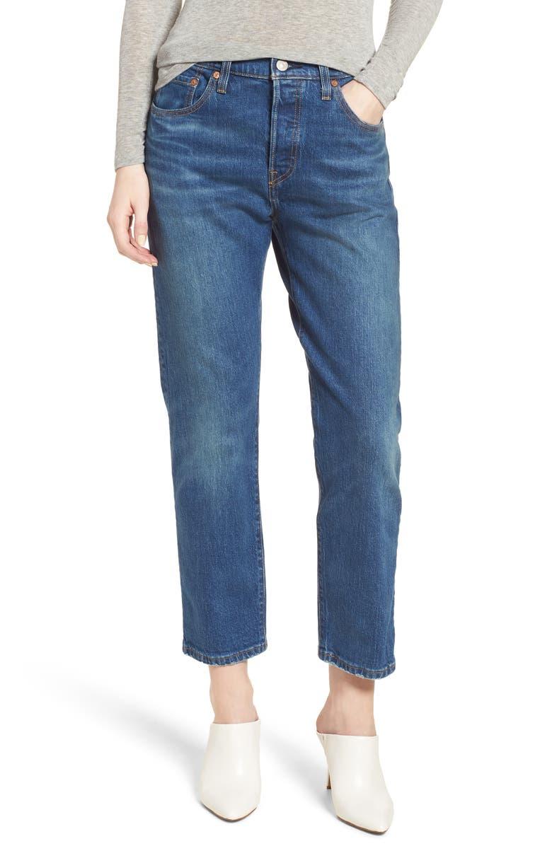 df8aaac3 Levi's® 501® High Waist Crop Jeans (Rebel) | Nordstrom