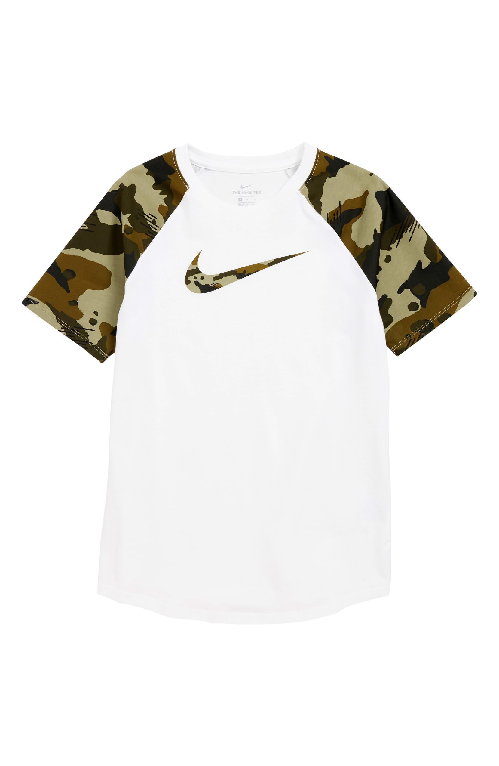 fafbe36b8 Nike Sportswear Camo Raglan T-Shirt (Little Boys & Big Boys) | Nordstrom