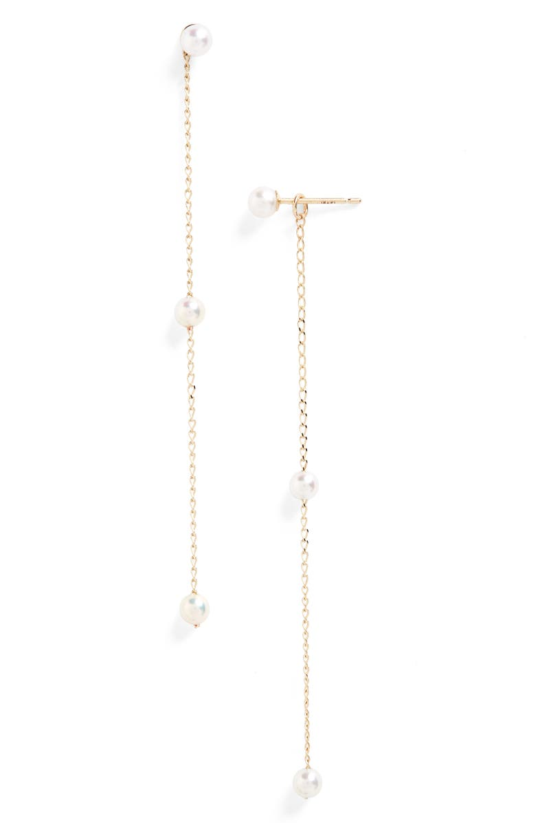 Mizuki Sea Of Beauty Pearl Convertible Drop Earrings