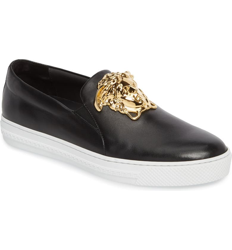 7b379a2f Versace First Line Iconic Palazzo Slip-On (Men) | Nordstrom