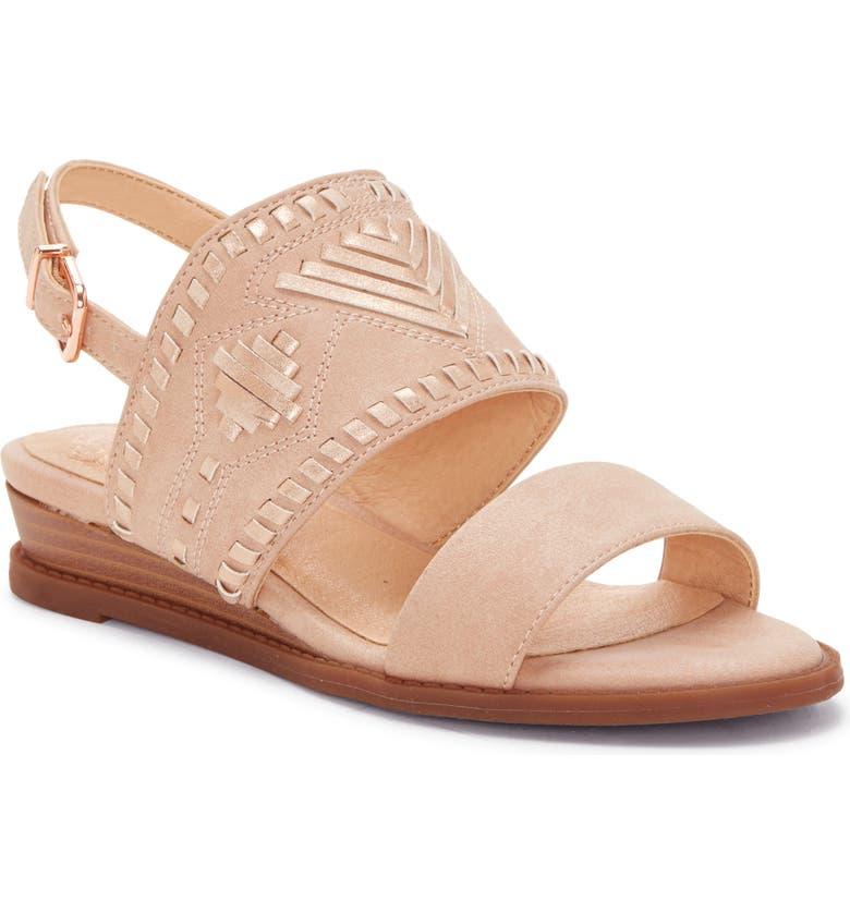 VINCE CAMUTO Radames Sandal, Main, color, BLUSH/ PINK SAND