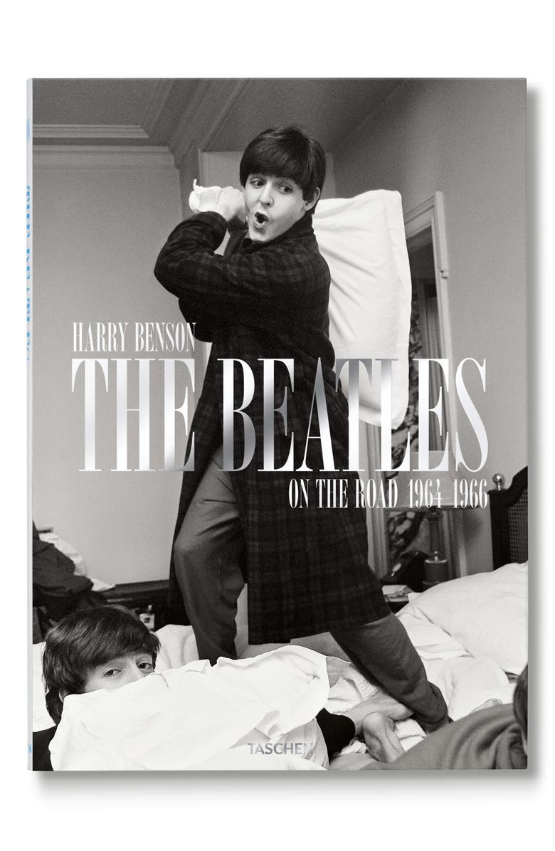 TASCHEN BOOKS The Beatles: On The Road 1964-1966' Book, Main, color, GREY