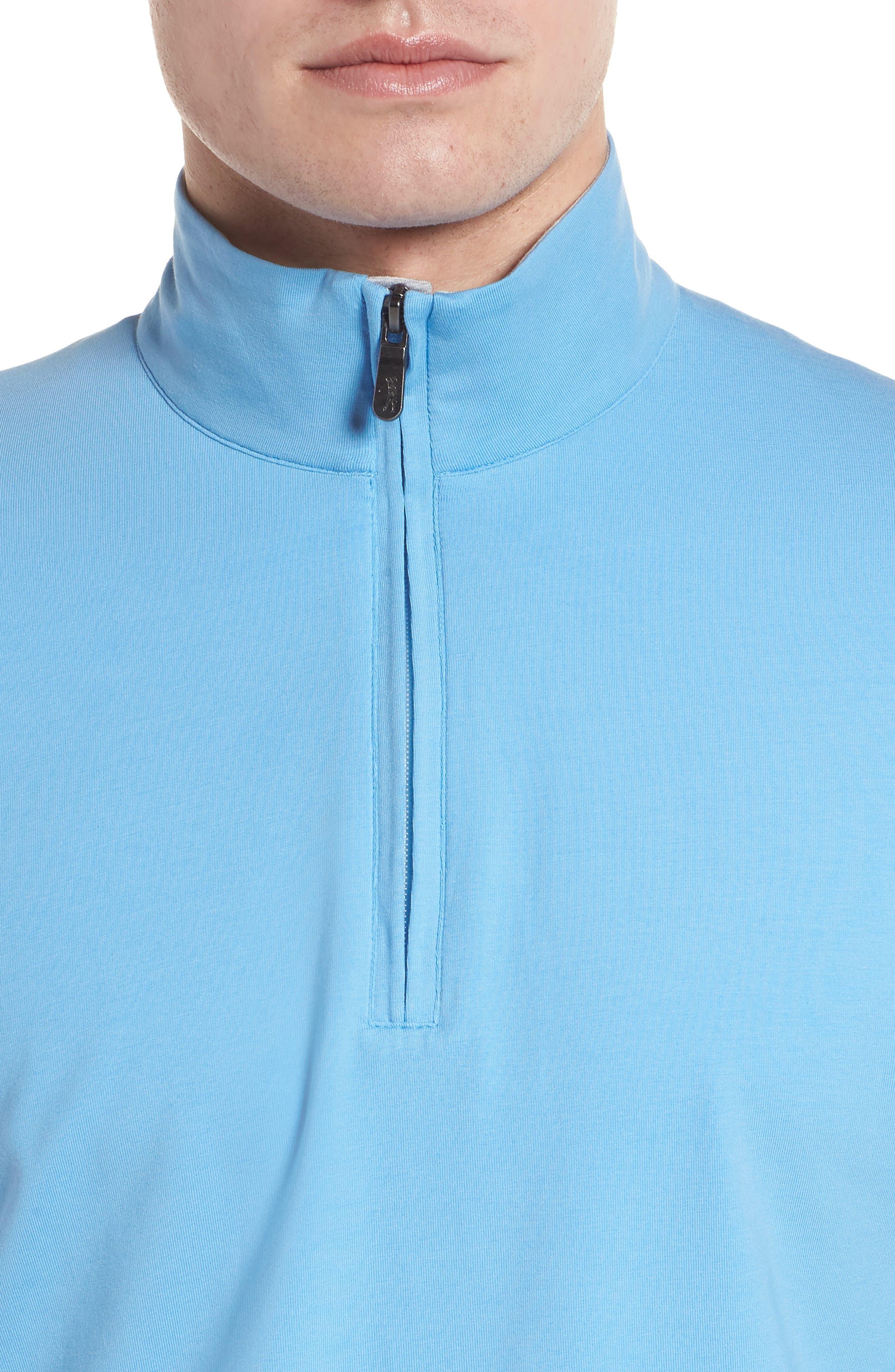 ,                             PTO Liquid Stretch Quarter Zip Pullover,                             Alternate thumbnail 22, color,                             459