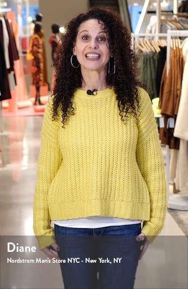 Filana Ribbed Short Sleeve Sweater, sales video thumbnail