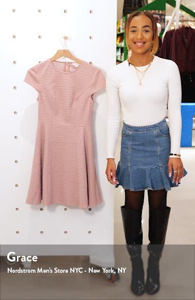 Cherisa Fit & Flare Dress, sales video thumbnail