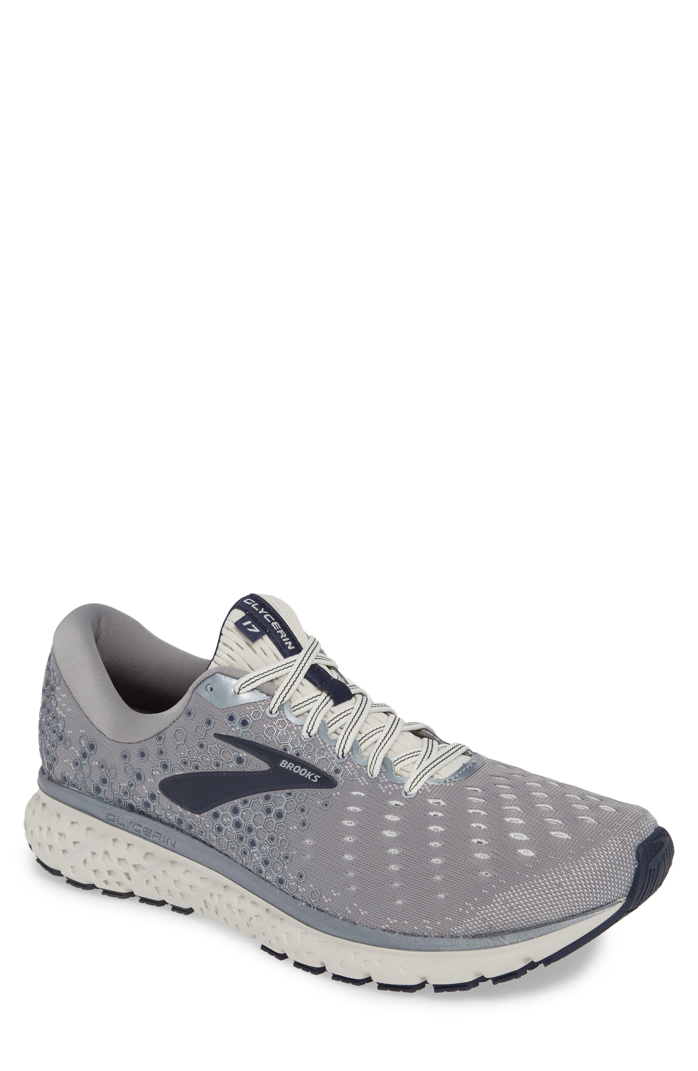 Brooks Glycerin 17 Running Shoe - Grey