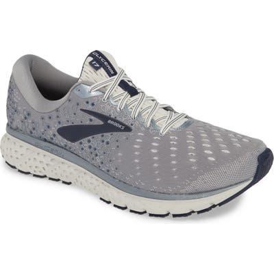 Brooks Glycerin 17 Running Shoe, EE - Grey
