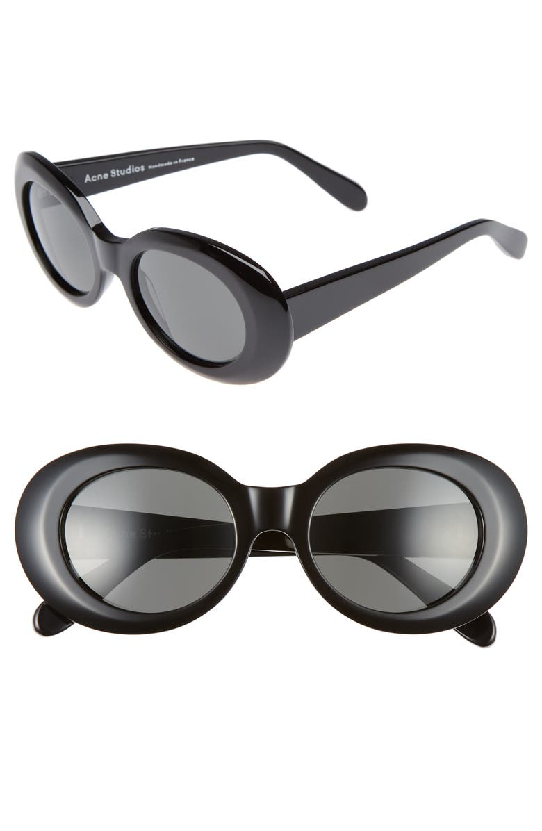 e84ee7f3190f2 Acne Studios Mustang 47mm Oval Sunglasses