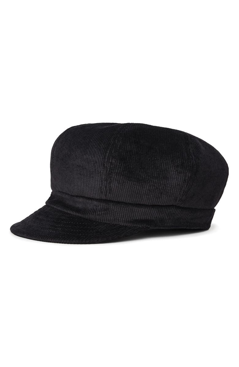 BRIXTON Montreal Un Fiddler Cap, Main, color, BLACK CORD