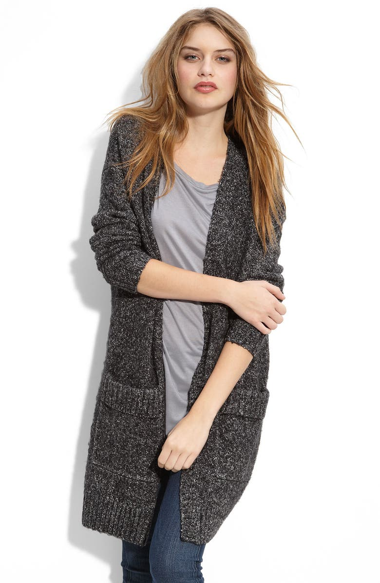 4041831bd Trouvé Oversized Tweed Cardigan | Nordstrom