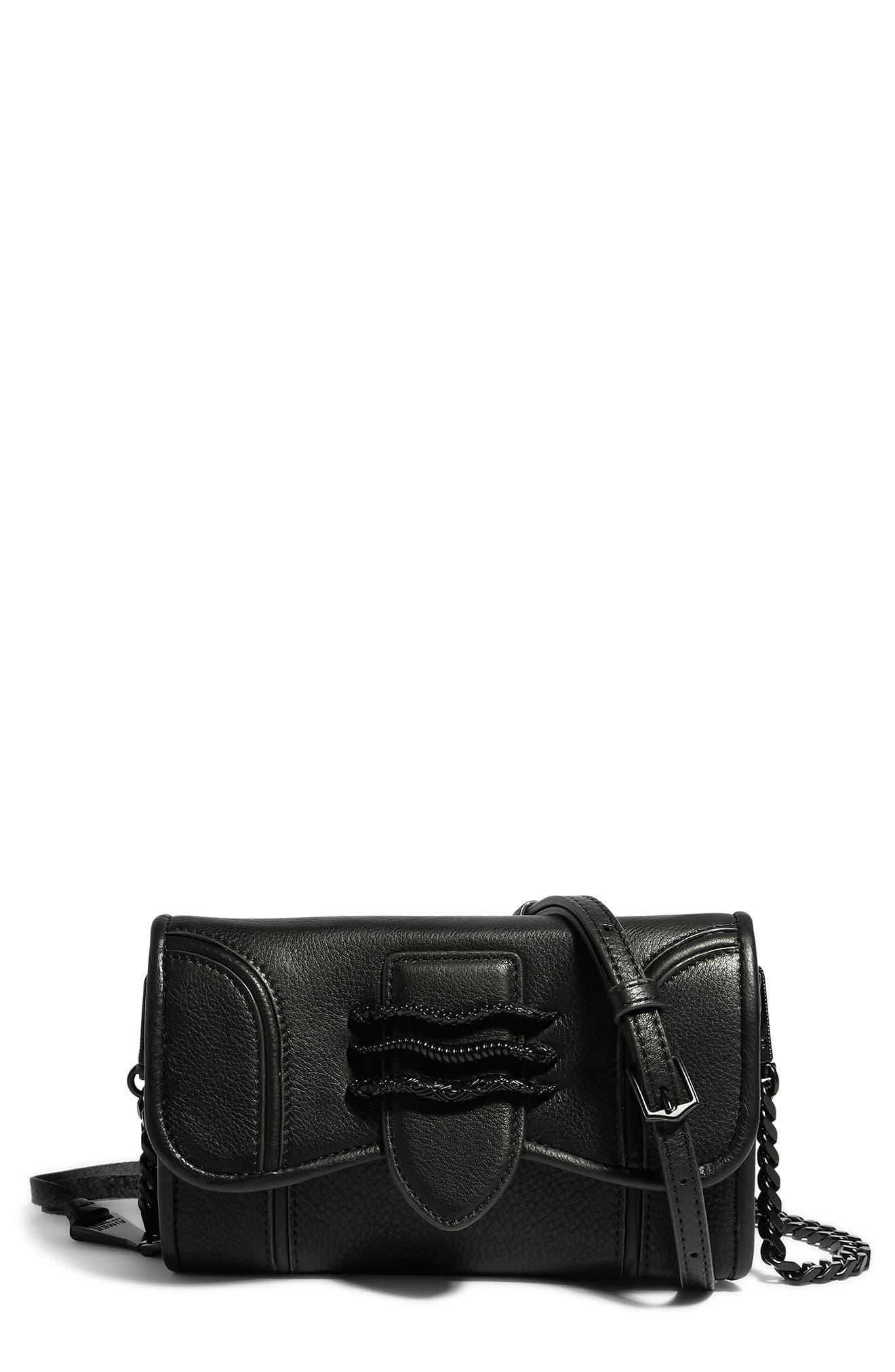 Fierce & Fab Leather Wallet On A Chain