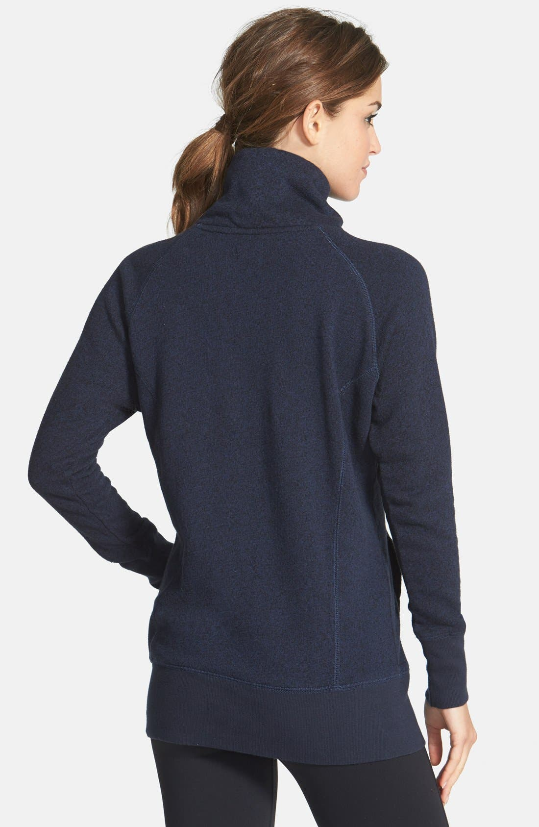 ,                             'Canyon' Stand Collar Pullover,                             Alternate thumbnail 10, color,                             400