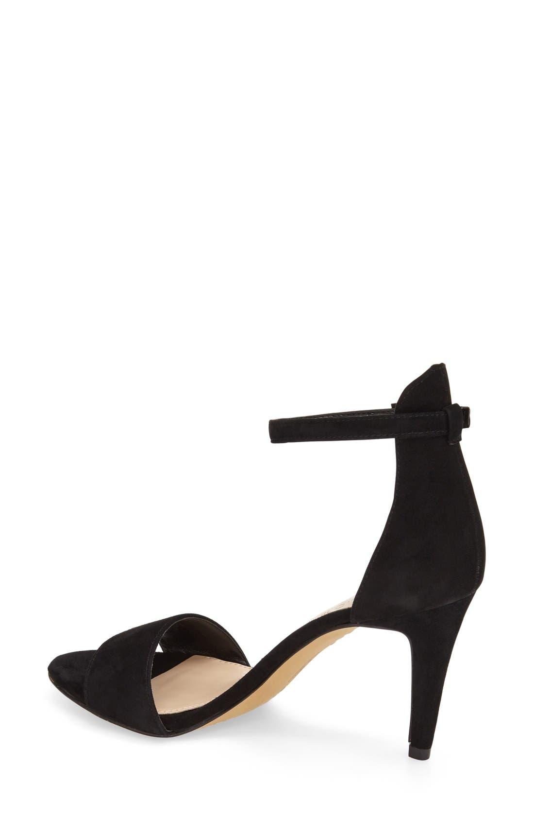 ,                             'Court' Ankle Strap Sandal,                             Alternate thumbnail 17, color,                             004