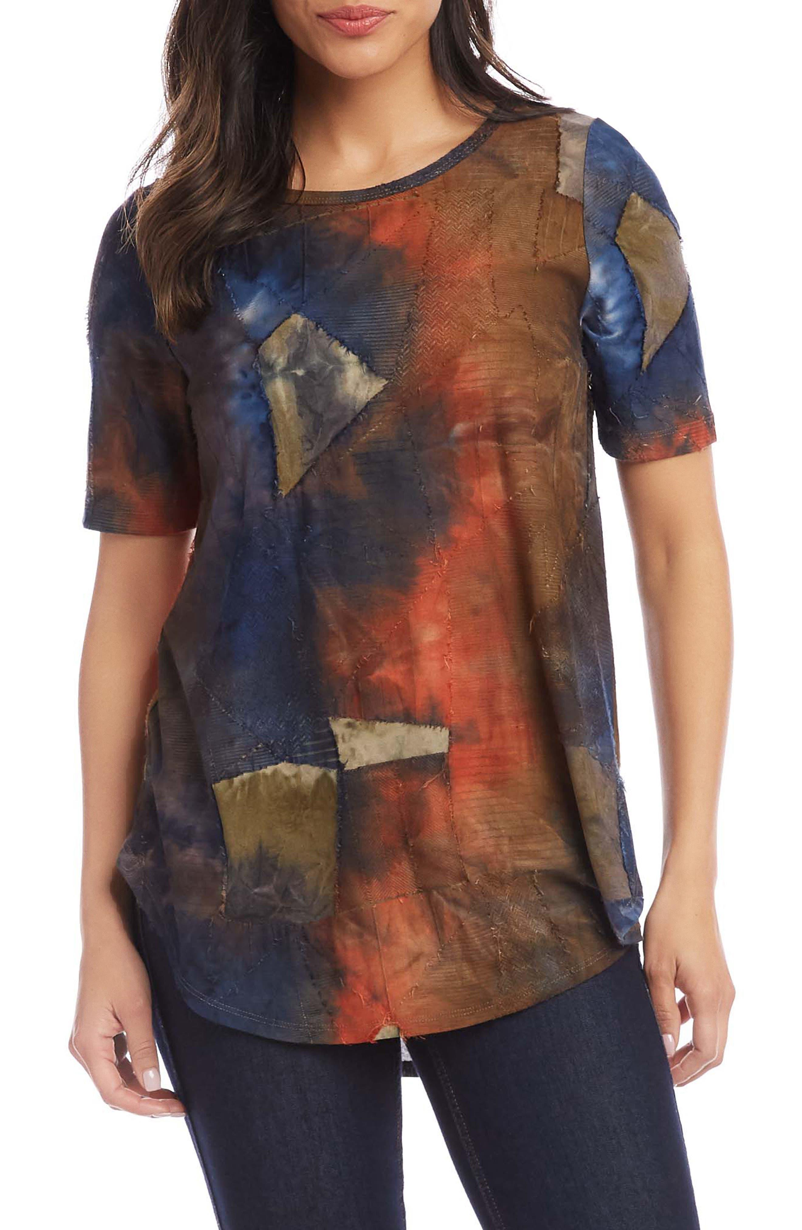 Patchwork Tie Dye T-Shirt