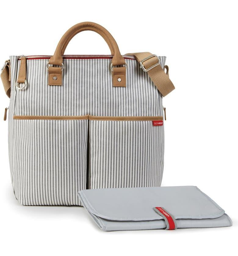 SKIP HOP 'Duo' Diaper Bag, Main, color, 001