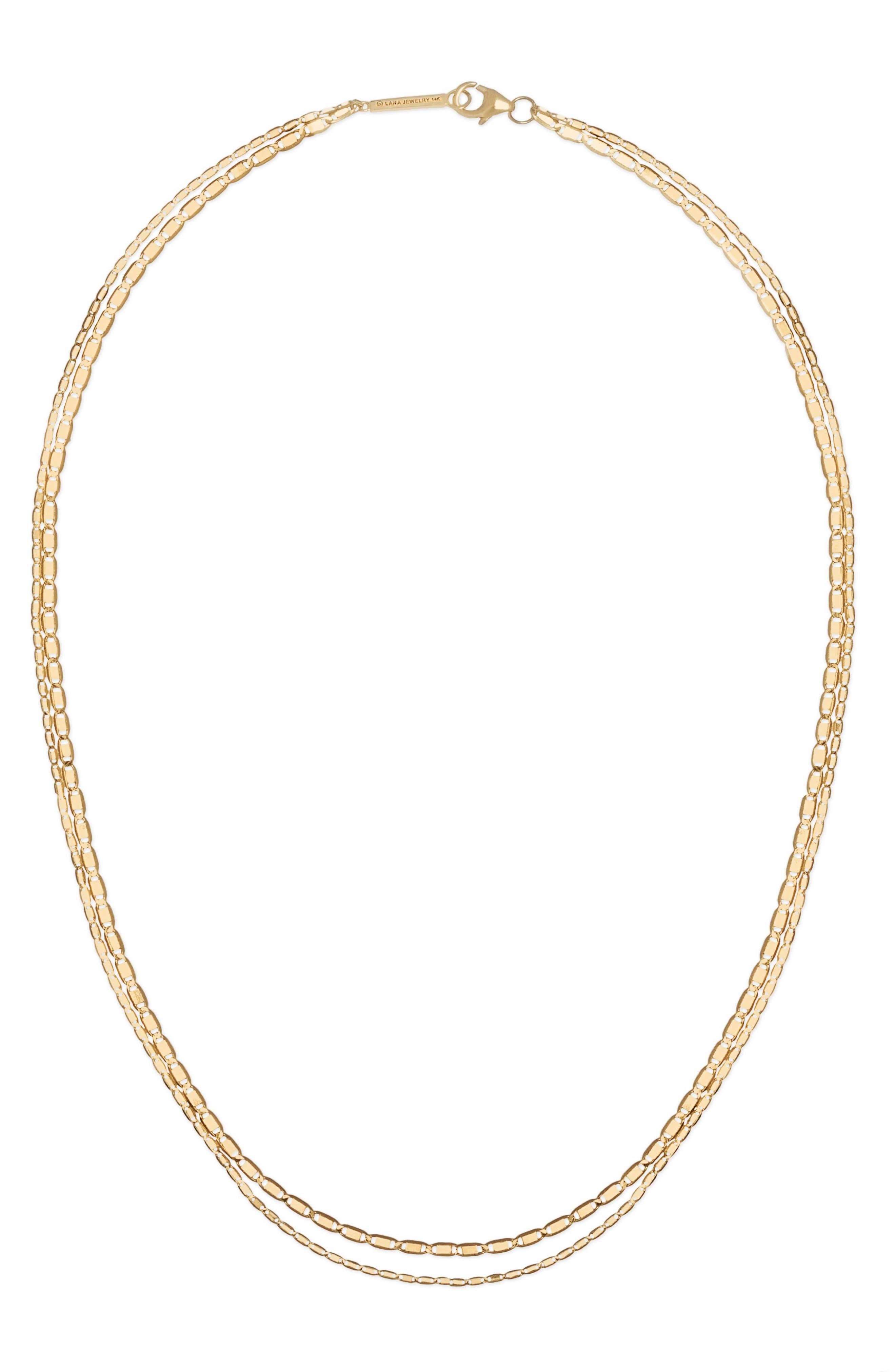 Petite Malibu Double Layer Necklace