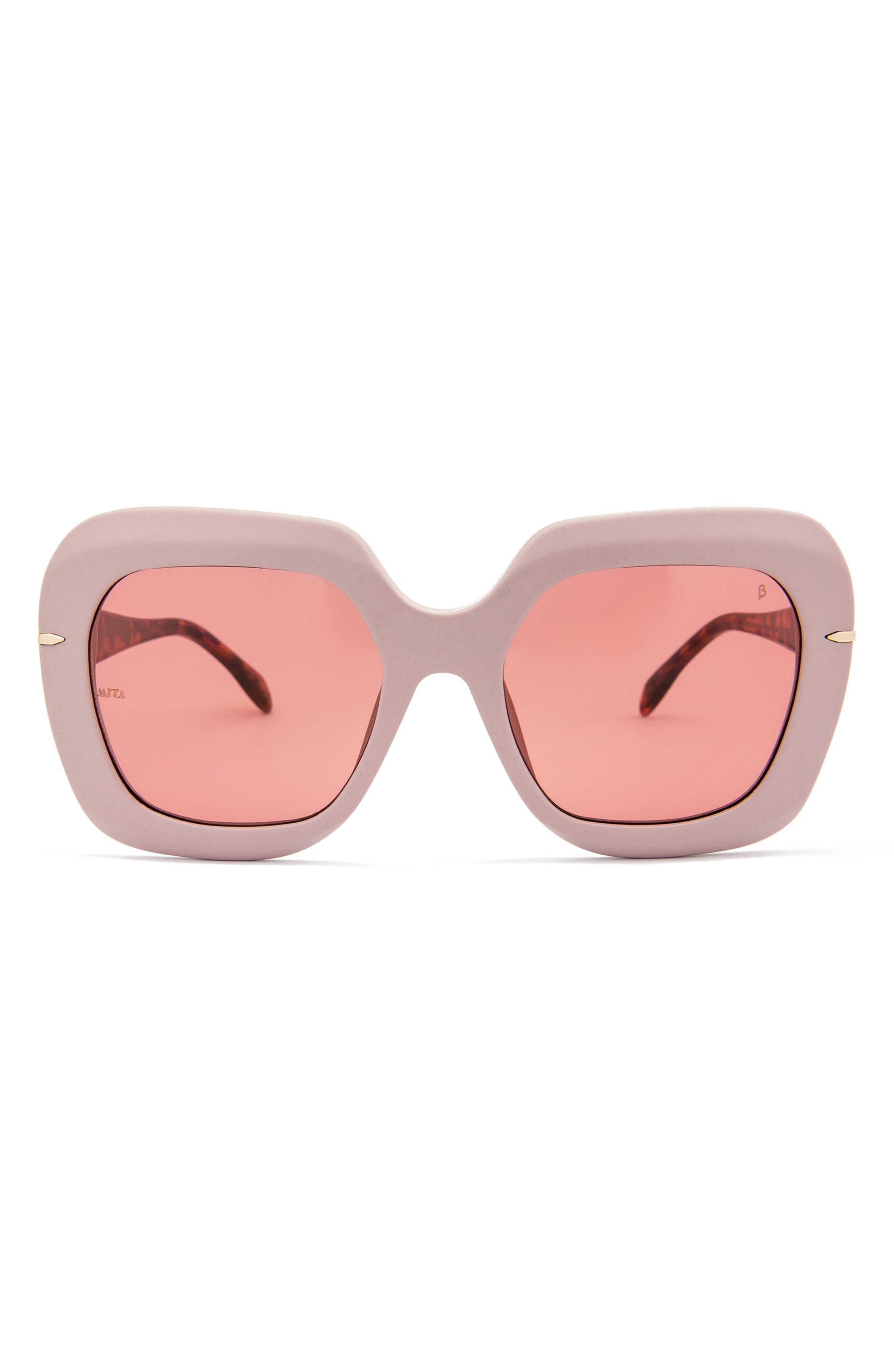Mare 56mm Square Sunglasses
