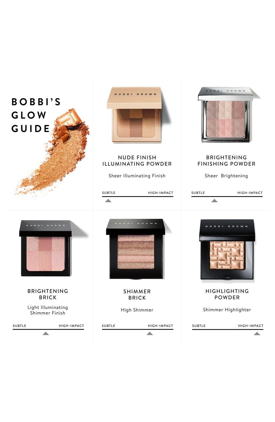 ,                             Shimmer Brick Highlighter Compact,                             Alternate thumbnail 2, color,                             ROSE