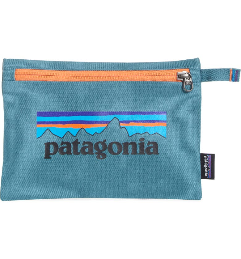 PATAGONIA Organic Cotton Zip Pouch, Main, color, 400