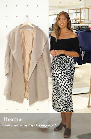 Hooded Wool & Mohair Coat, sales video thumbnail