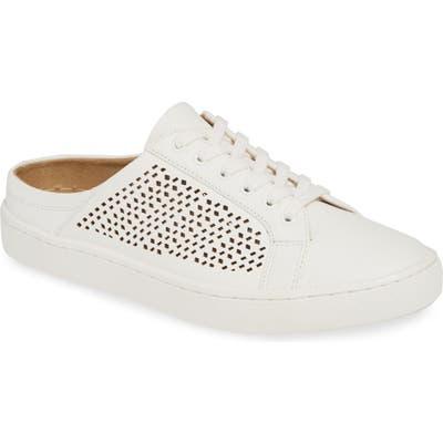 Bella Vita Star Open Back Sneaker, White