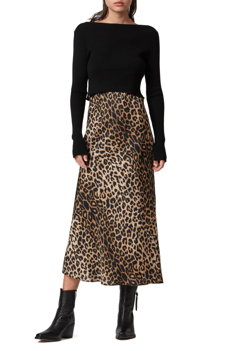 ALLSAINTS Hera Leppo Sweater & Slipdress