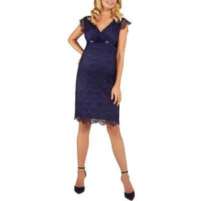 Tiffany Rose Imogen Maternity Dress, Blue
