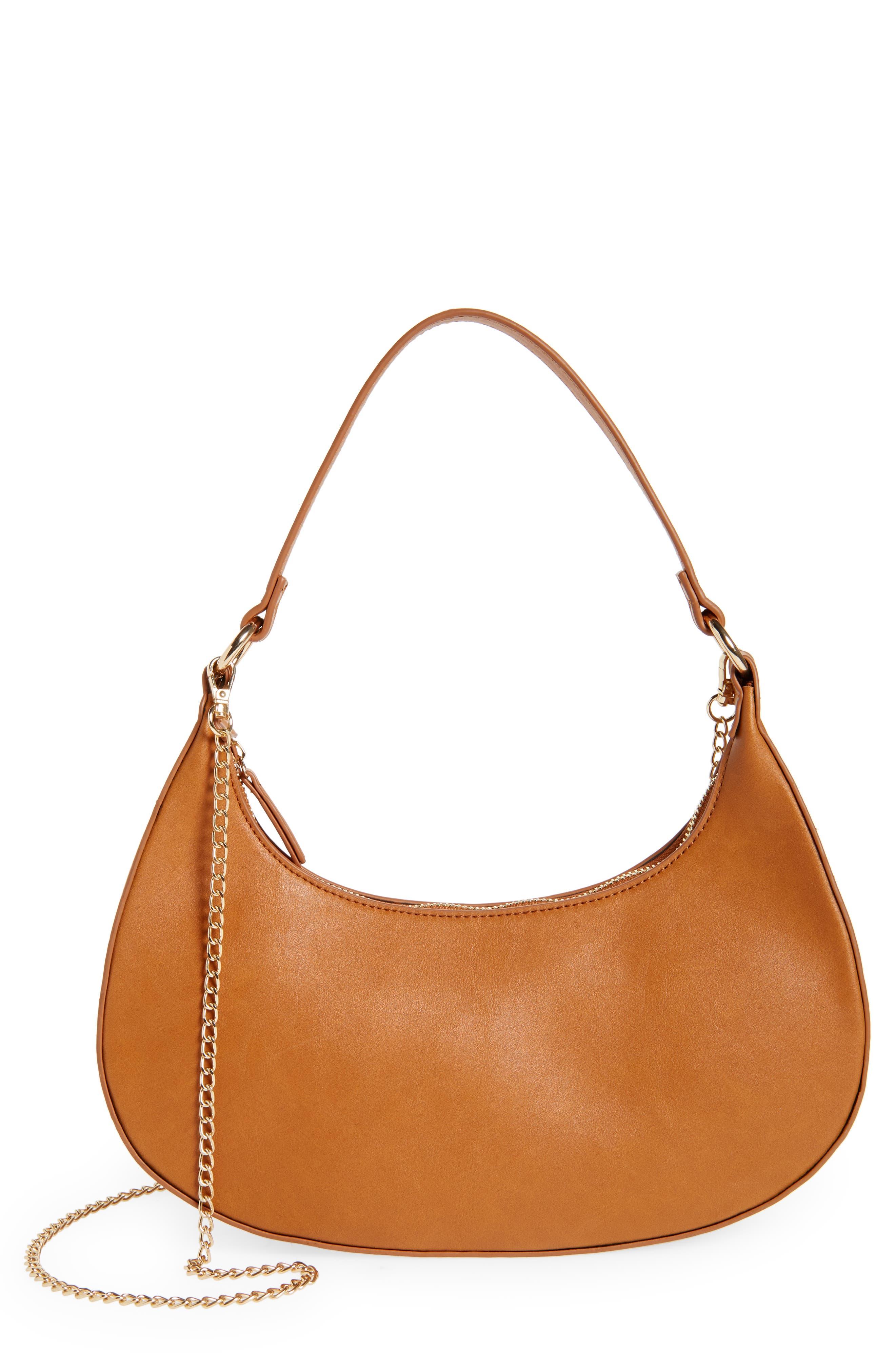 Mari Crescent Shoulder Bag