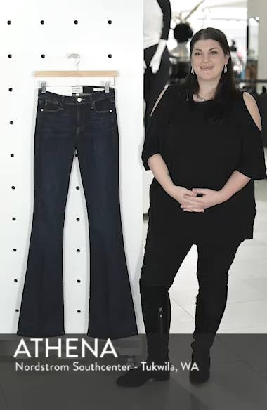 'Le High Flare' Jeans, sales video thumbnail