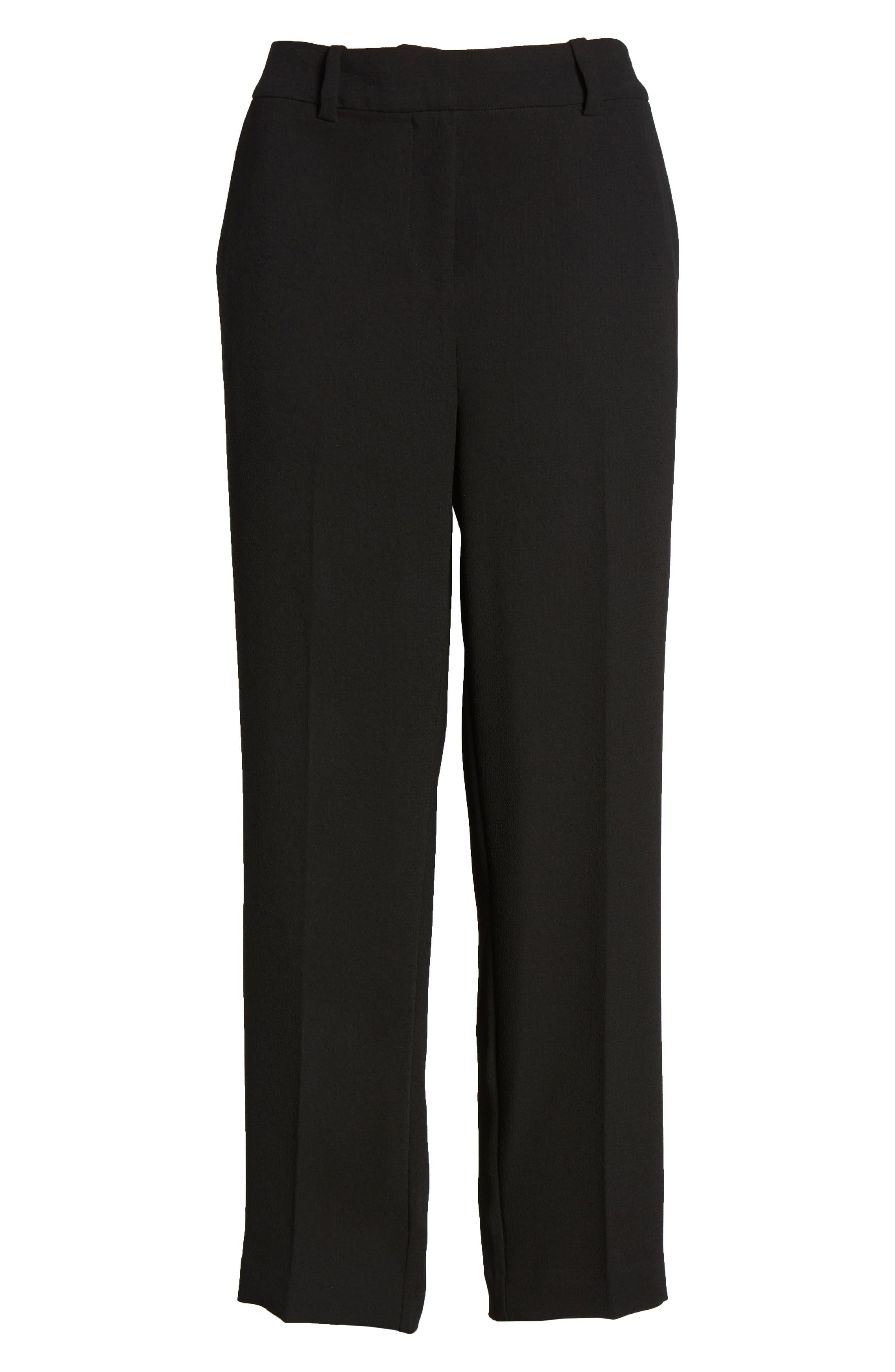 ,                             Parisian Crepe Trousers,                             Alternate thumbnail 7, color,                             006