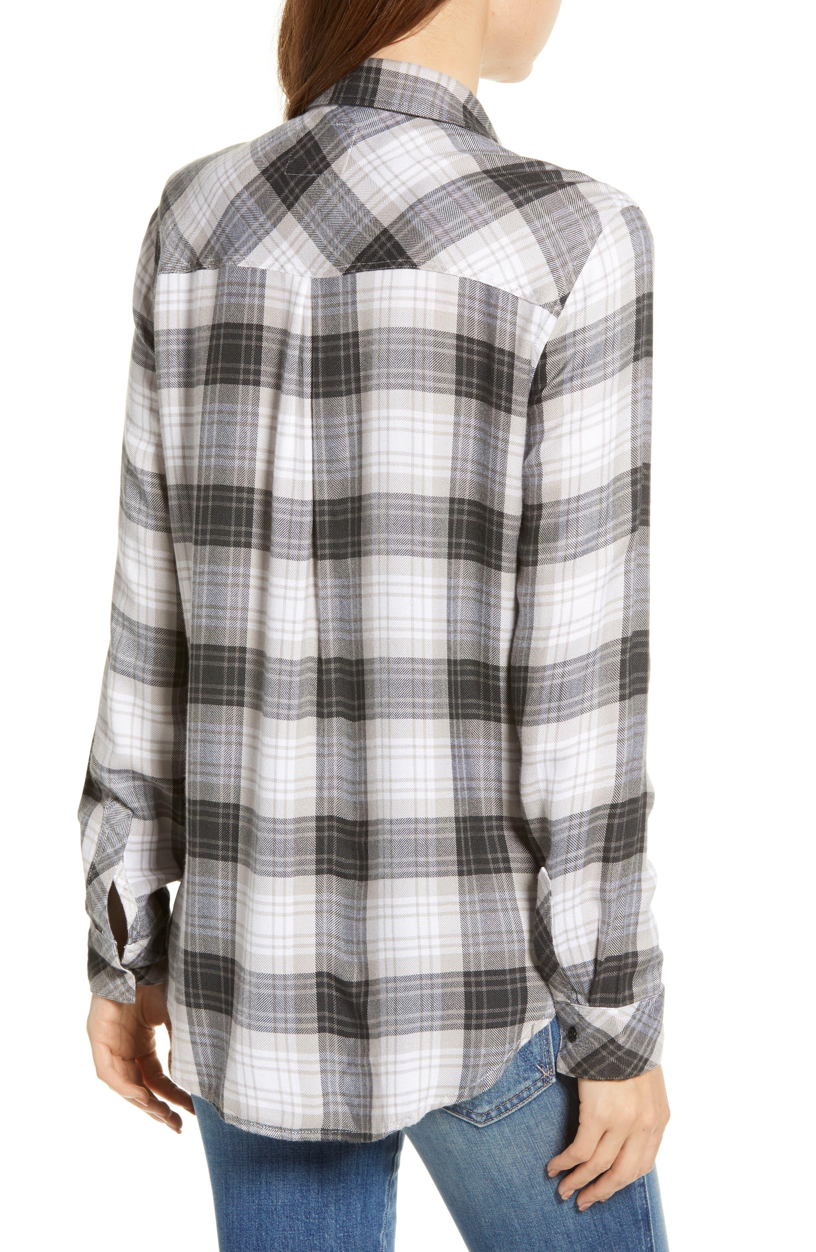 ,                             Hunter Plaid Shirt,                             Alternate thumbnail 245, color,                             074
