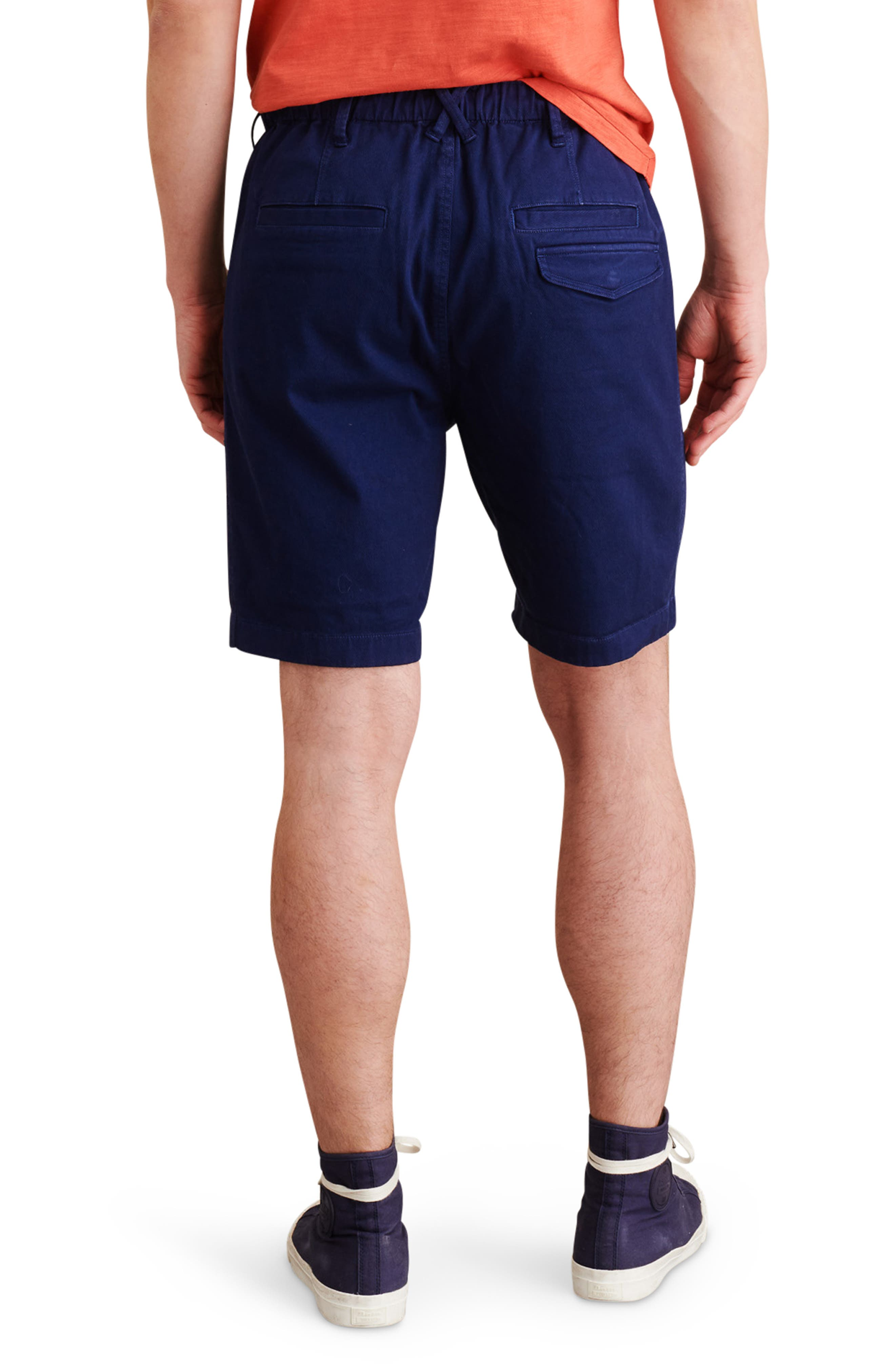 Pull-On Button Fly Shorts