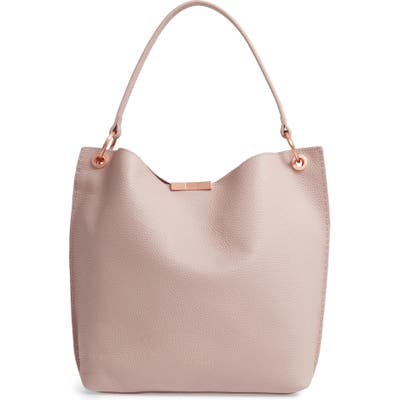 Ted Baker London Candiee Bow Leather Hobo - Pink
