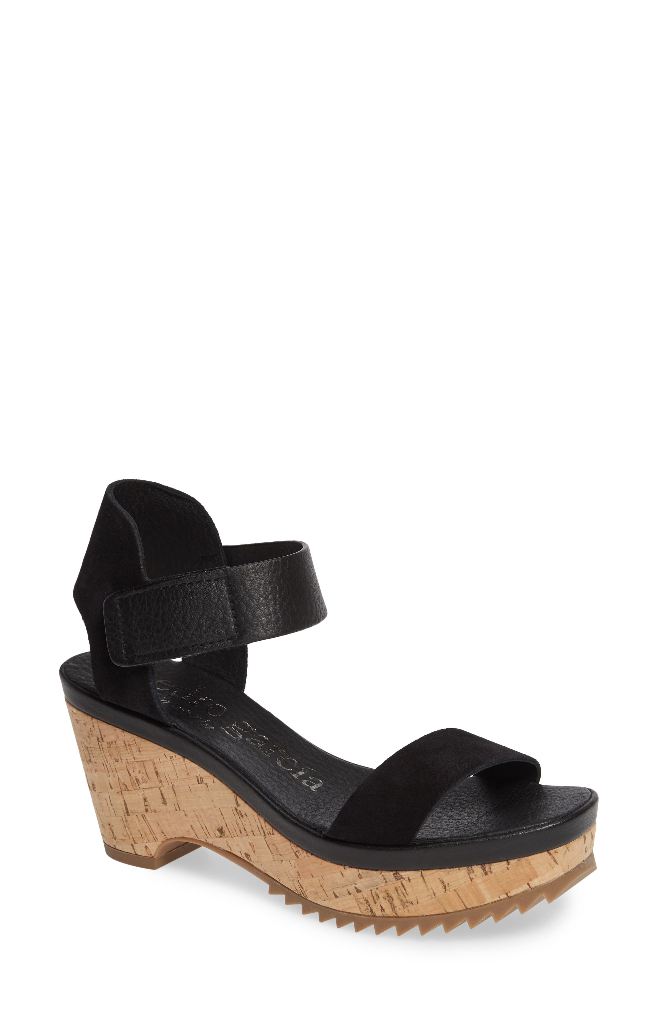 Pedro Garcia Franses Flatform Sandal, Black
