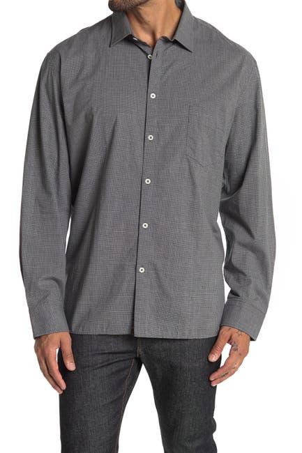 Image of Billy Reid John T Micro Check Shirt
