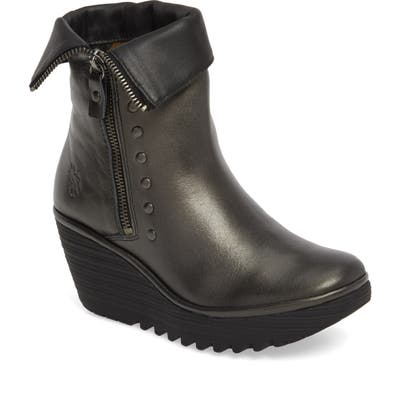 Fly London Yemi Wedge Bootie
