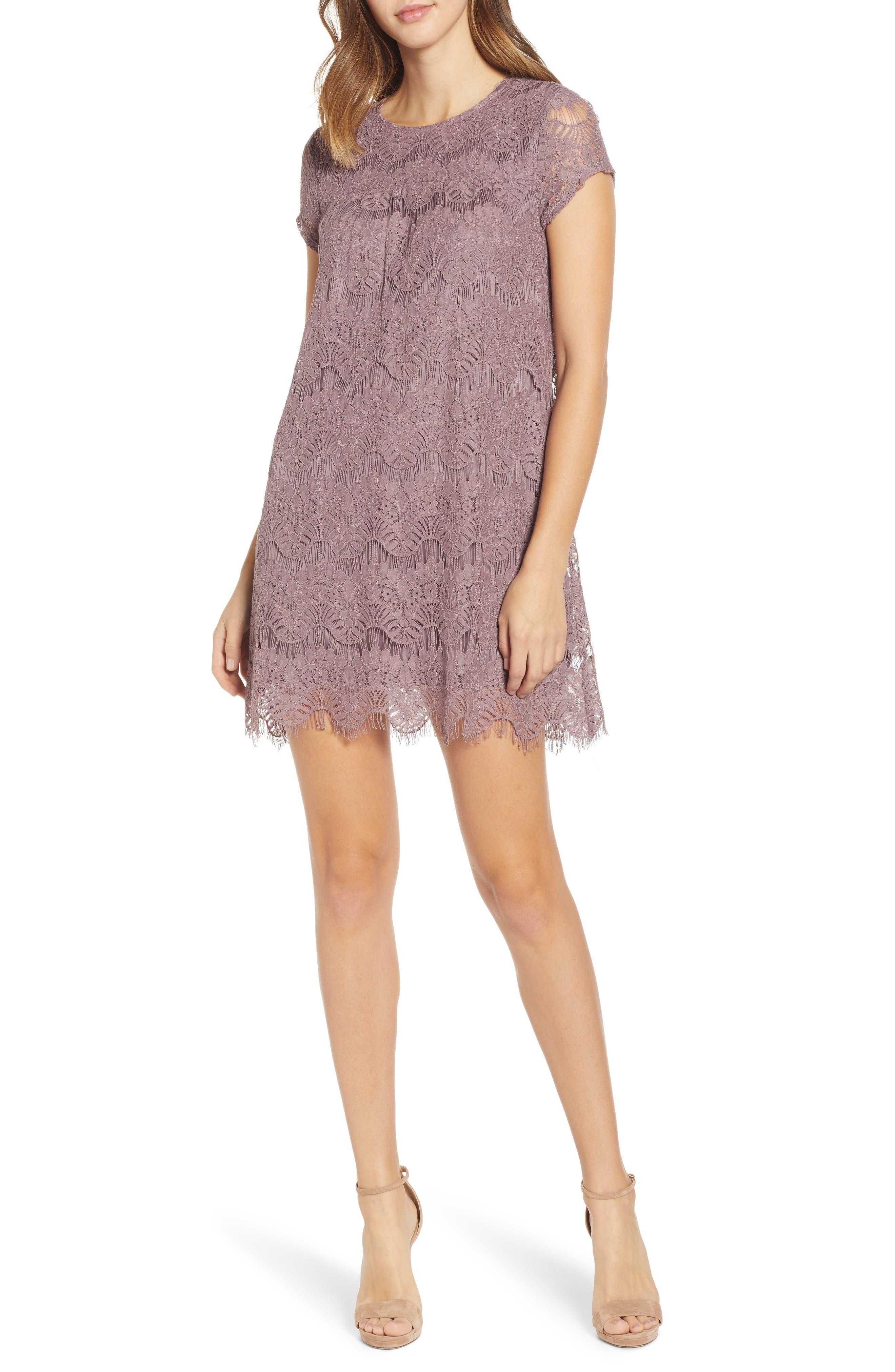 Speechless Lace Shift Dress