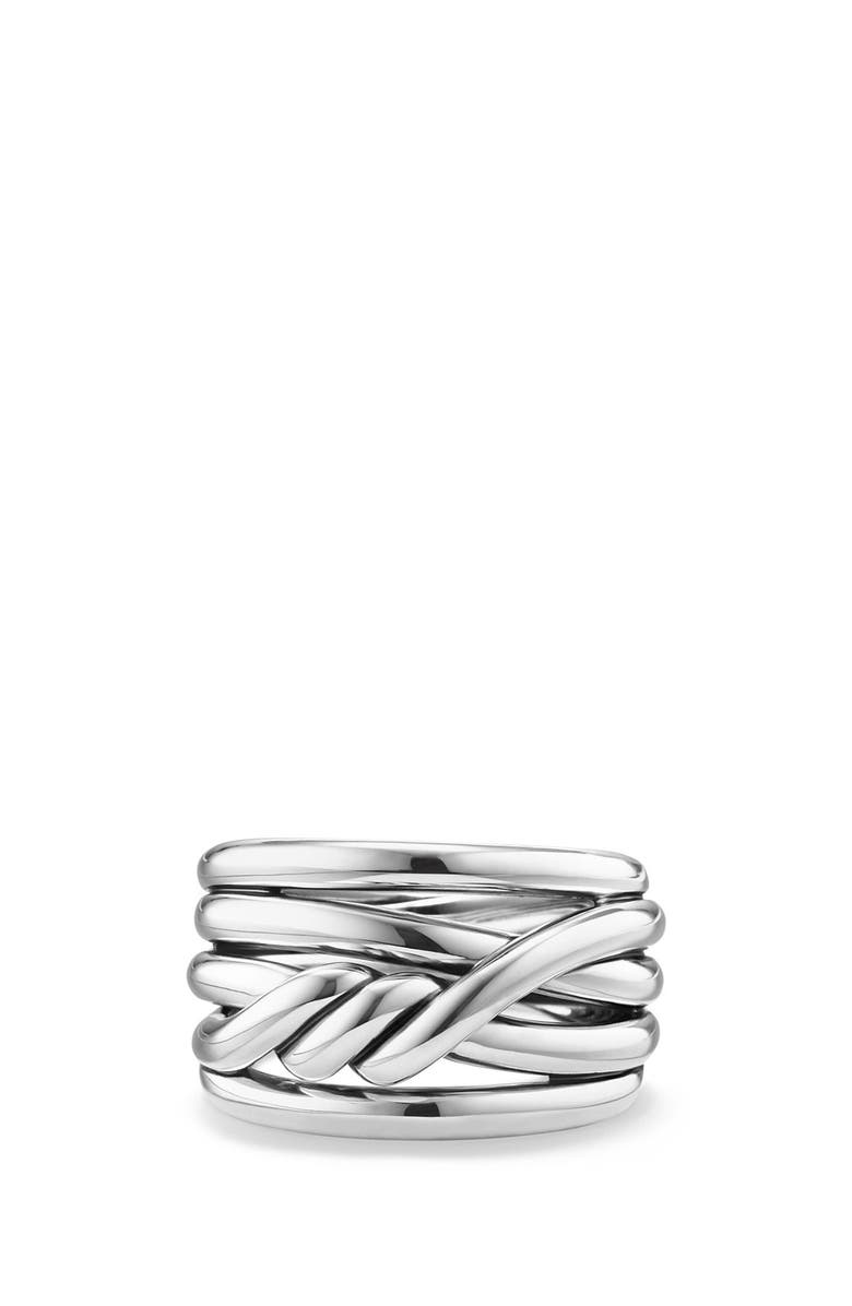 DAVID YURMAN Continuance Ring, Main, color, SILVER
