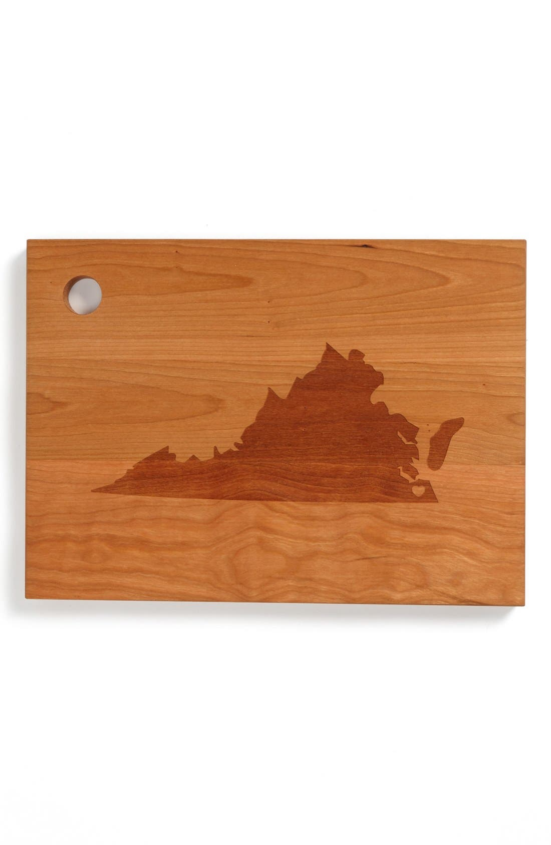 ,                             'State Silhouette' Cutting Board,                             Main thumbnail 48, color,                             245