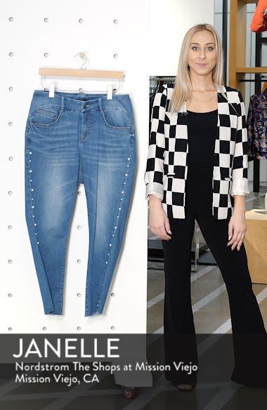 Pearl Rivet Ankle Skinny Jeans, sales video thumbnail