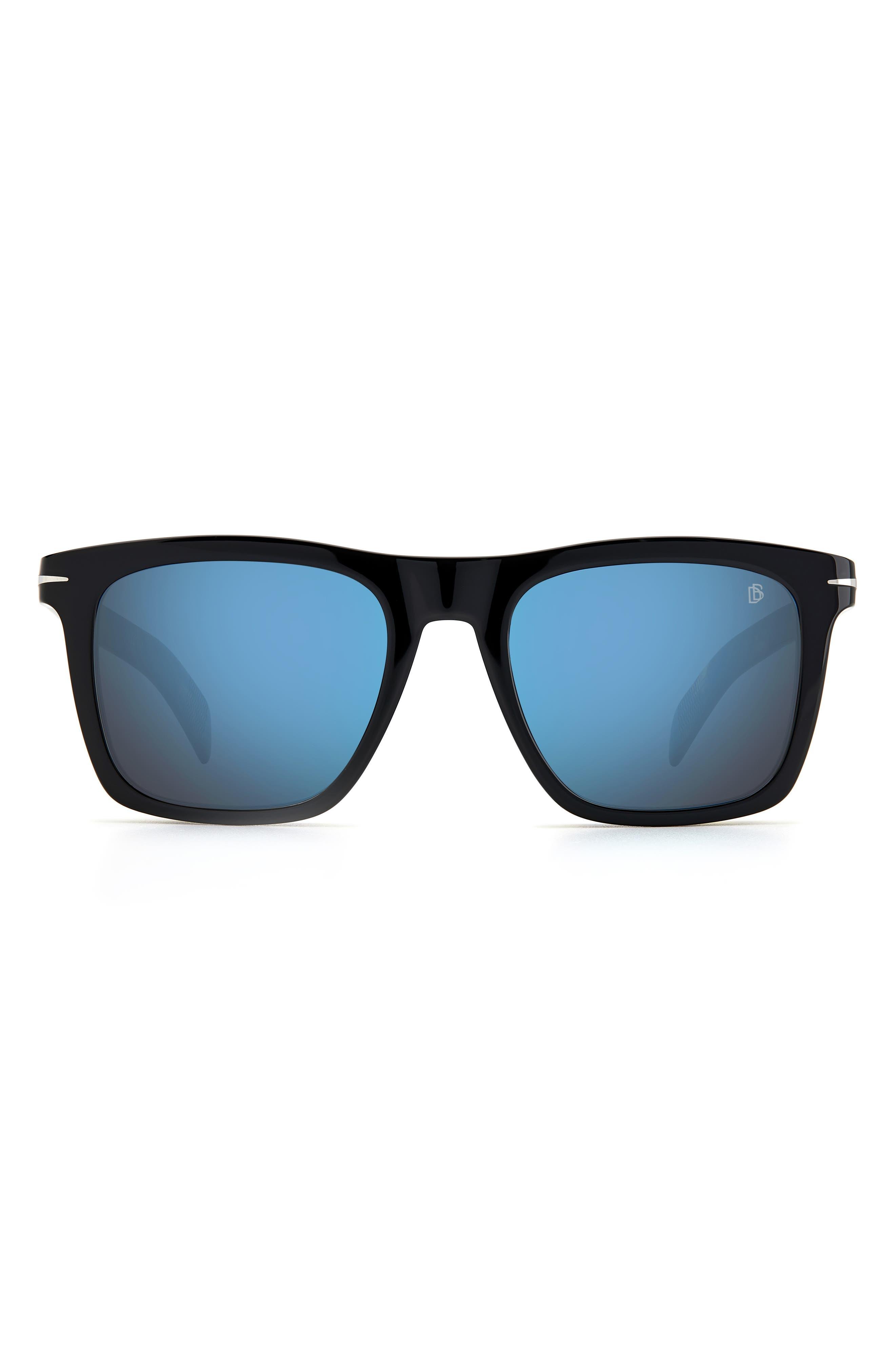 Men's David Beckham 51mm International Fit Square Sunglasses