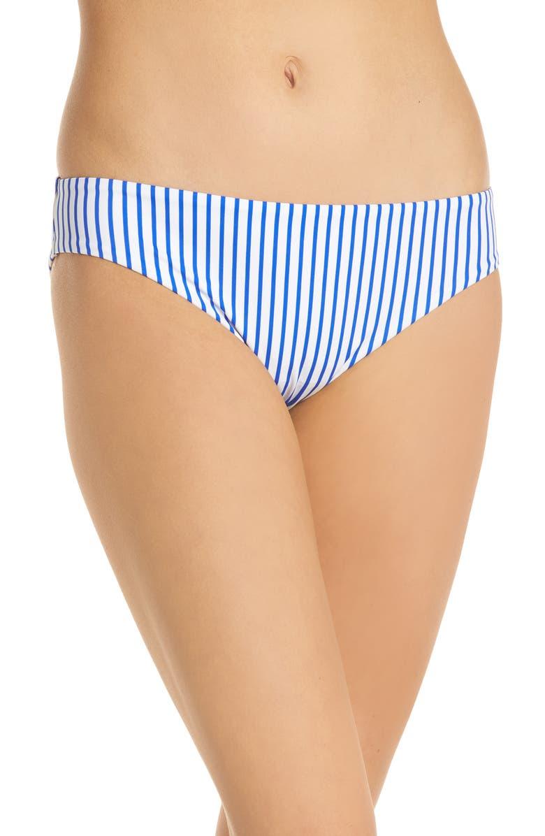 FREYA Totally Stripe Bikini Bottoms, Main, color, 430