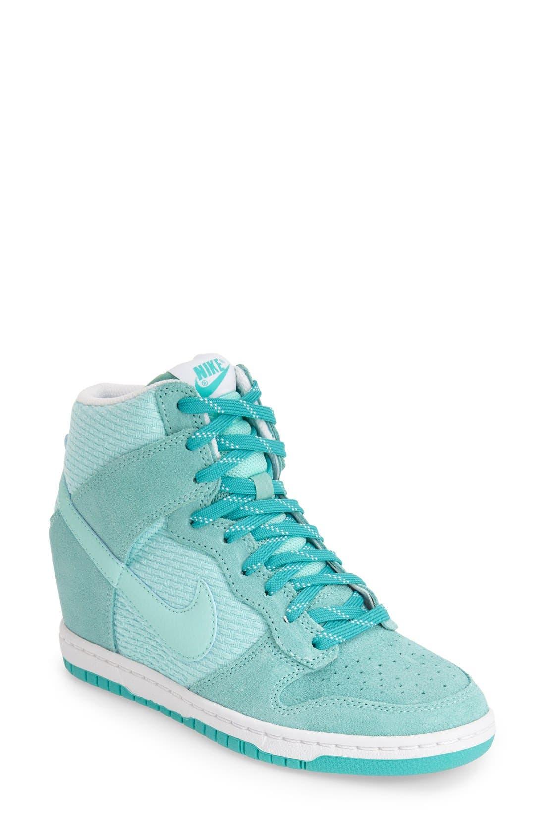,                             'Dunk Sky Hi - Essential' Wedge Sneaker,                             Main thumbnail 53, color,                             303