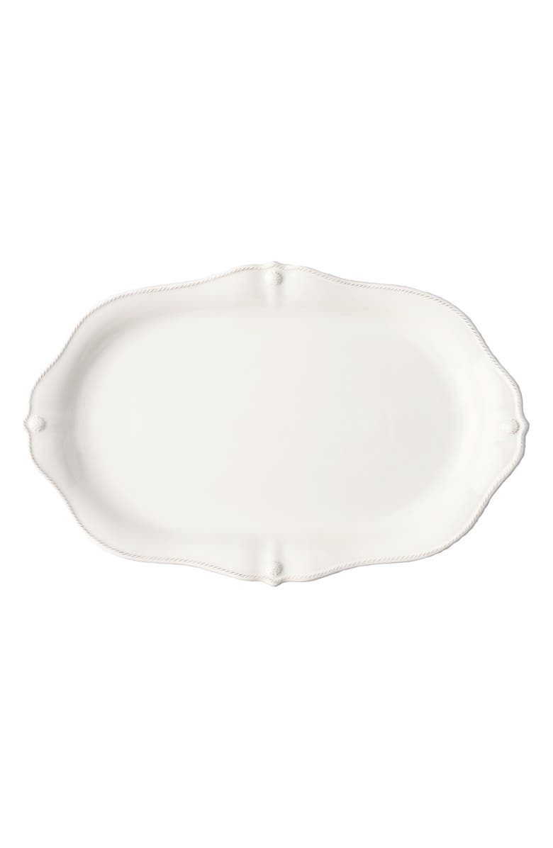 JULISKA Berry & Thread Whitewash Scalloped Platter, Main, color, WHITEWASH
