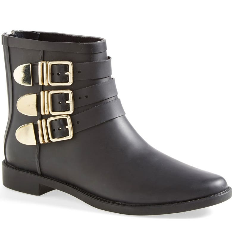 LOEFFLER RANDALL 'Fenton' Rain Boot, Main, color, 001