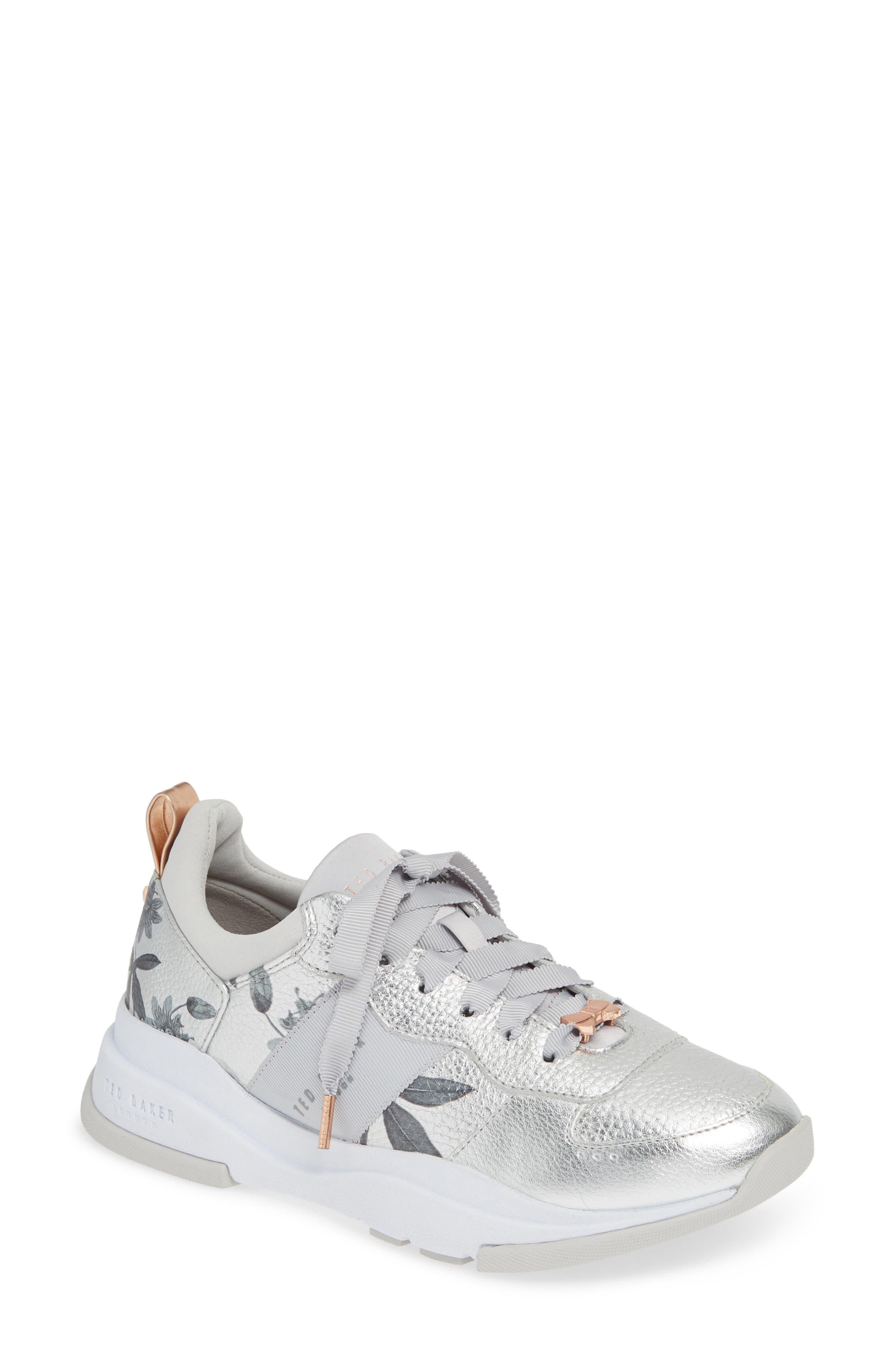 Ted Baker London Waverdi Sneaker, Metallic