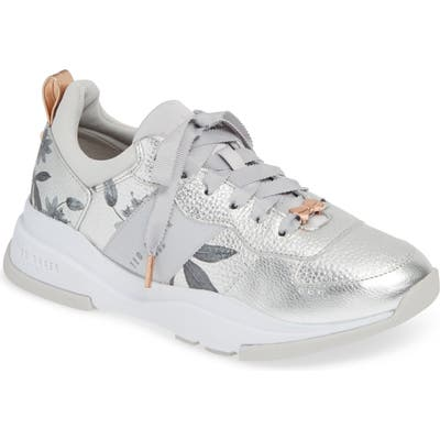 Ted Baker London Waverdi Sneaker - Metallic