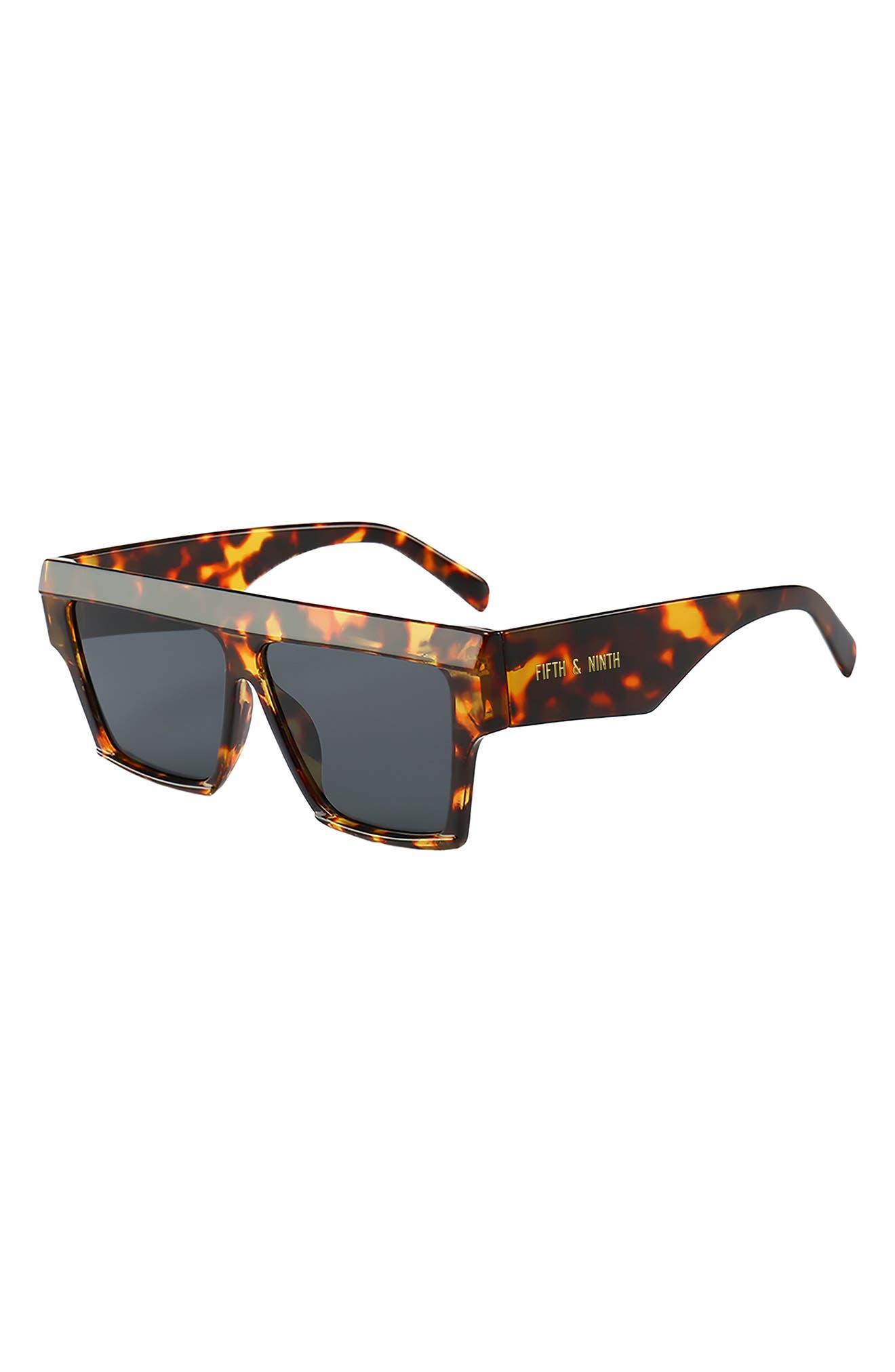 Avalon 70mm Square Sunglasses